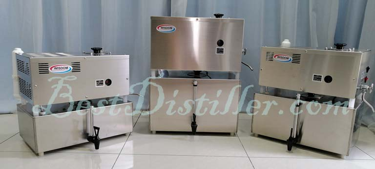 WISDOM Water distiller float control